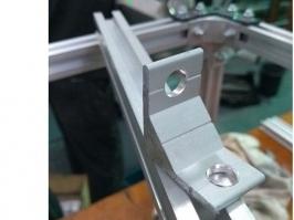 Cantoneira de aluminio