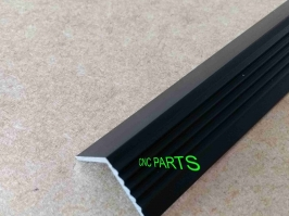 Cantoneira de aluminio para escada,preta