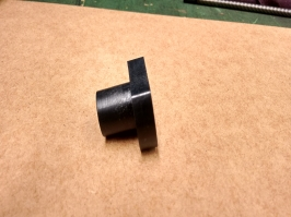 Castanha em nylon com flange