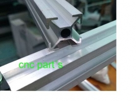 Perfil de aluminio 20 x 20   x 650mm