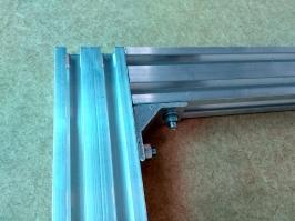 Perfil de aluminio 20 X40